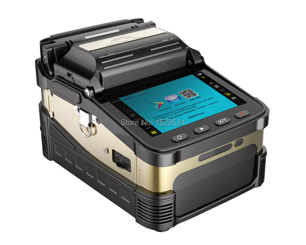 AI-8 FTTH Fiber Optik Ekleme Makinesi Fiber Optik Fusion Splicer