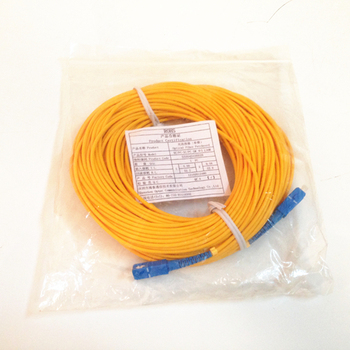 Ücretsiz Kargo Fiber Optik Atlamacı SC-SC SM SX 3mm 30 M 9/125um 30 Metre SC/PC Fiber Optik Patch Cord stokta