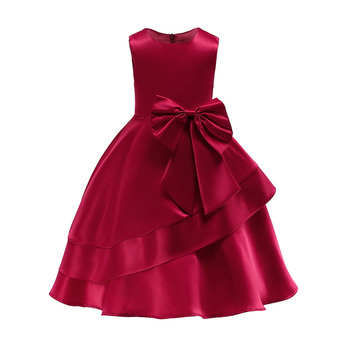 Baby girl princess party dress kids wedding birthday girl fashion christmas clothes girls 2 3 4 5 6 7 8 9 10Y children clothing