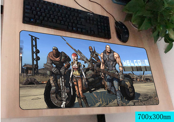 Borderlands mousepad gamer 700x300X3 MM gaming mouse pad büyük en iyi satıcı dizüstü pc aksesuarları dizüstü padmouse ergonomik mat